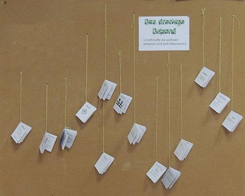 Pinnwand Minibücher