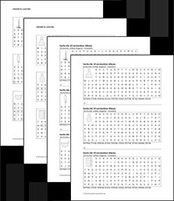 Unterricht Chemie Alkane Wortsuchrätsel