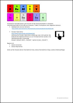 Atombau und PSE Archive - Leichter Unterrichten