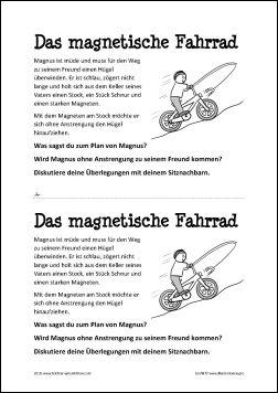magnetisches Fahrrad