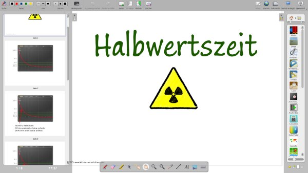 Halbwertszeit - Openboard