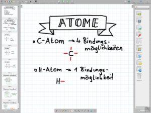 Openboard im Chemieunterricht
