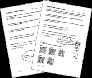 Übungsblatt Masse-Energie-Äquivalenz