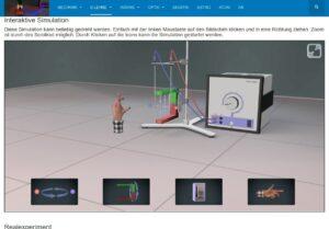 Interaktive Simulationen und Erklärvideos