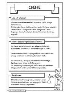 Handout Was ist Chemie?